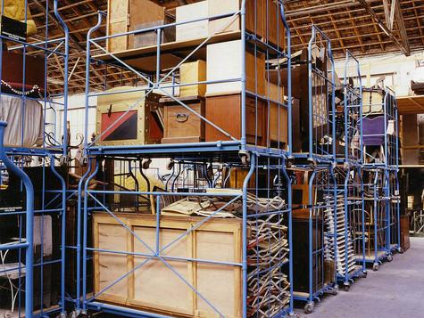 Hankalien esineiden varastointi
