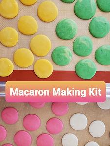 Macaron Making DIY Kit