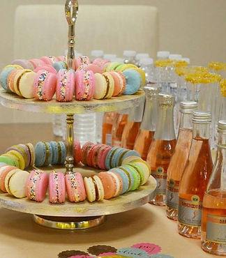 Macaron Bubbly Pairing Event