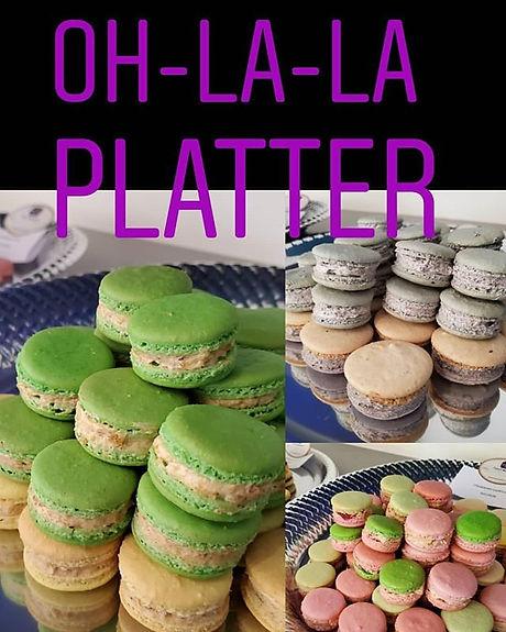 Our Oh-La-La Macaron Platter will glam u