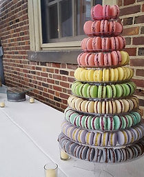 French Macarons Tower