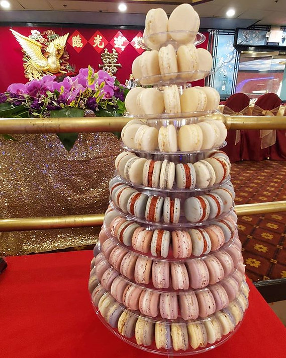 Boston Wedding Full Macaron Tower