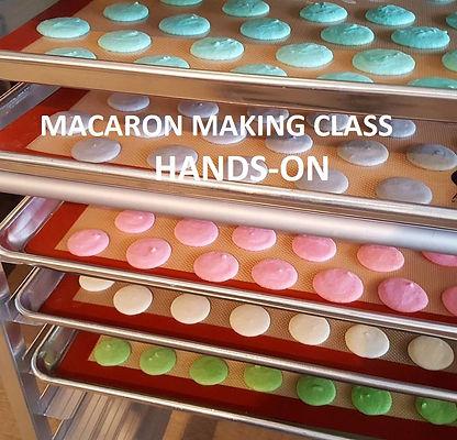 Macaron Making Hands On Class in Boston