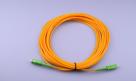 2x Single Mode Fibre Patch Cord - LWL Patchkabel