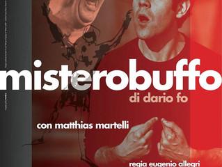 """Si avvicina il debutto di """"Mistero Buffo"""""""