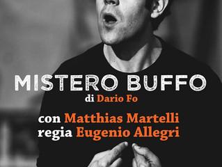"""Riprende vita """"Mistero Buffo"""""""