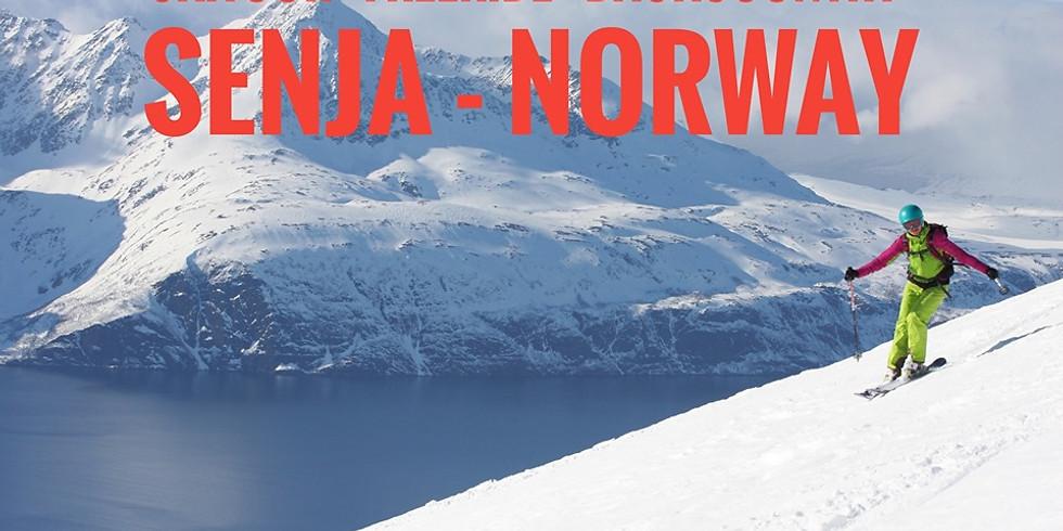 Скитур остров Сенья. Норвегия.