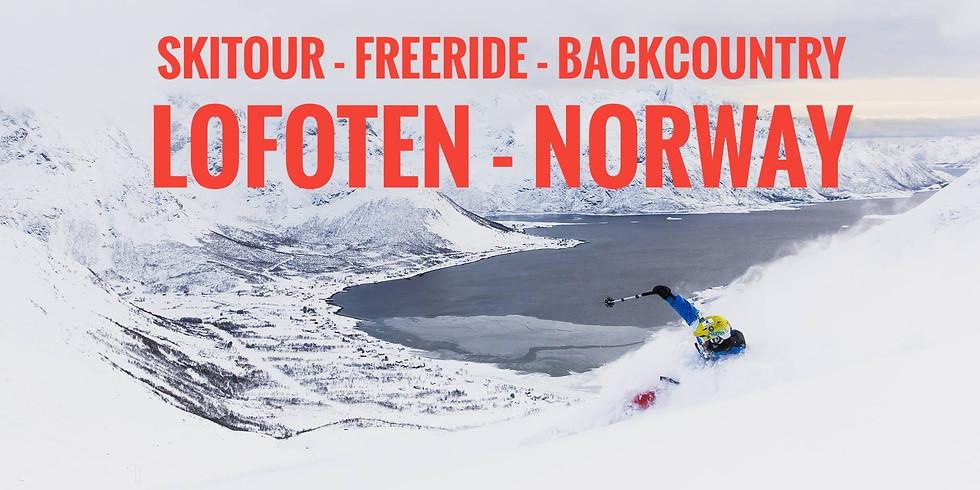 Скитур Лофотенские острова. Норвегия.