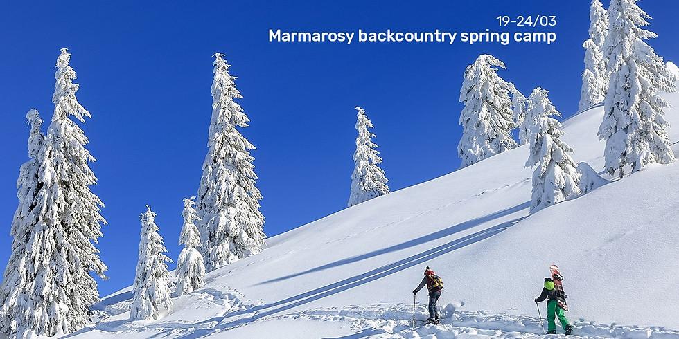 Marmarosy Backcountry Spring Camp
