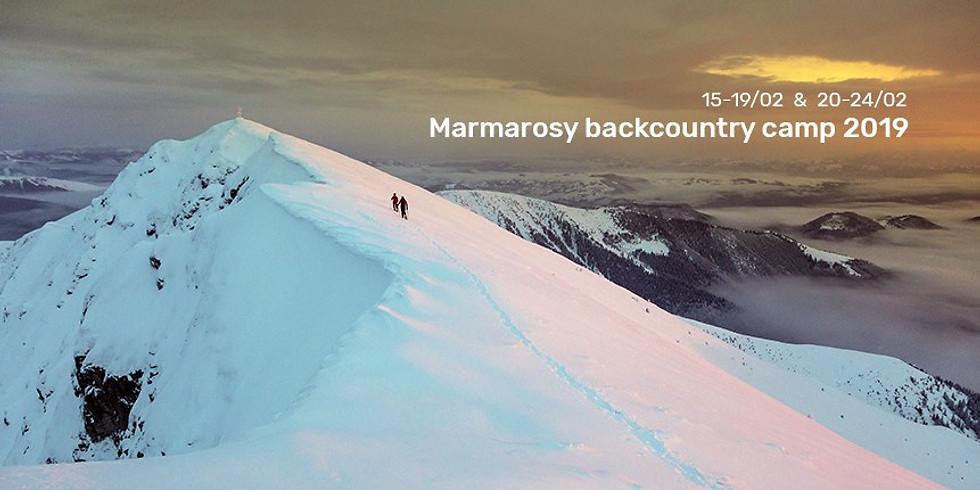 Marmarosy backcountry camp 2019