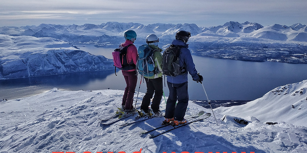 Скитур Тромсо. Норвегия.