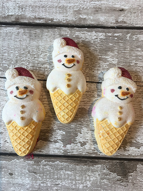 """FROSTY THE SNOWCONE"" SET OF FOUR - LUXURY"
