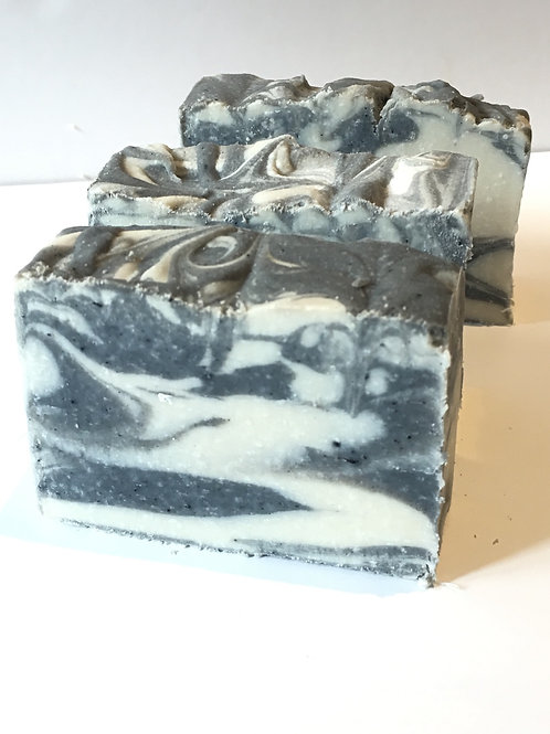 Tea Tree, Peppermint & ActivatedCharcoal  Soap