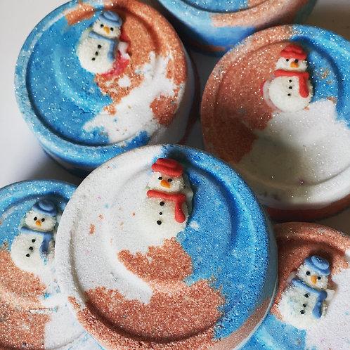Snowman Red, Snowman Blue