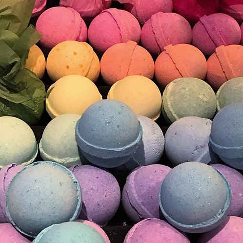 "TEN 1"" Round Bath Bombs"