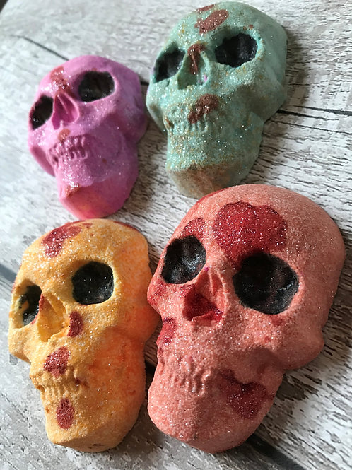 SKULLDUGARY TIME - Set of FOUR
