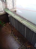 ZaZamknięce wody górnej na Zalewie Zmborzyckim w Lublinie