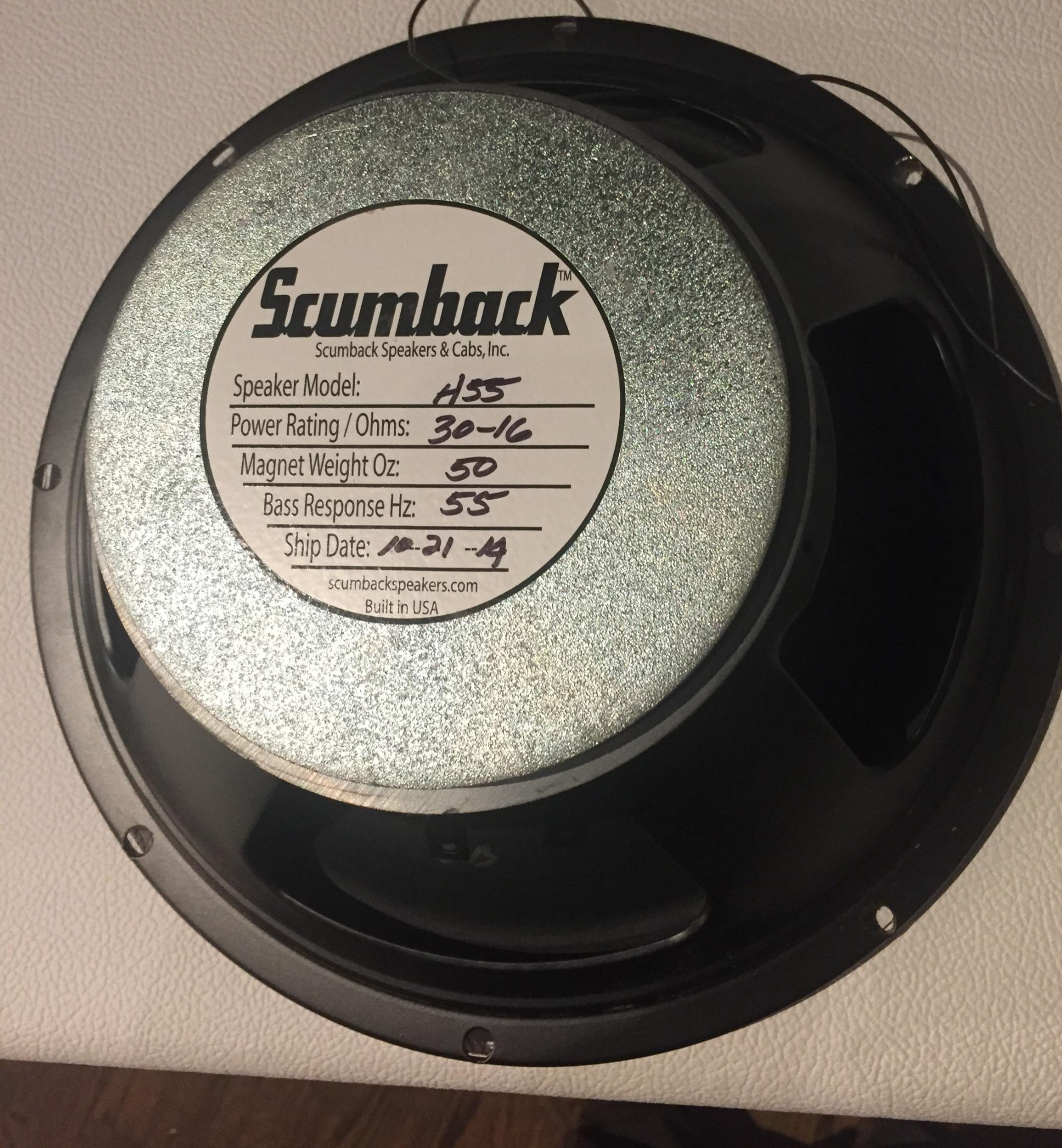 Scumback H55