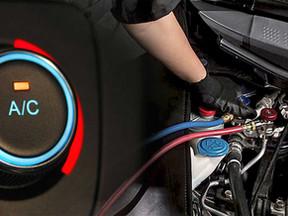 Vehicle aircon repair