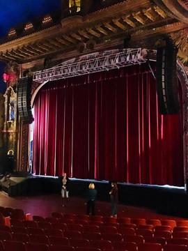 Rehearsal at the Kalamazoo State Theatre