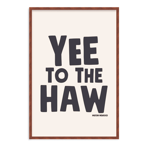 'YEE TO THE HAW' Digital Art Print