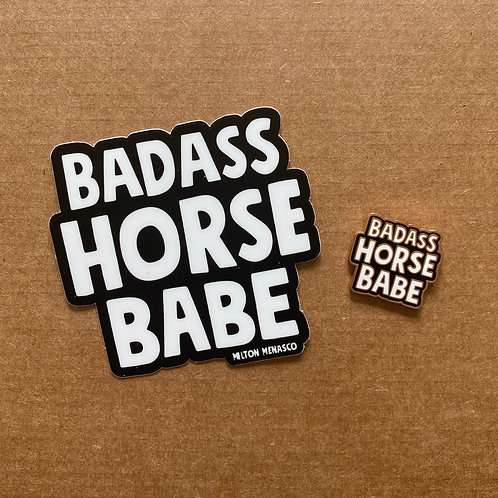 'BADASS HORSE BABE' Care Package