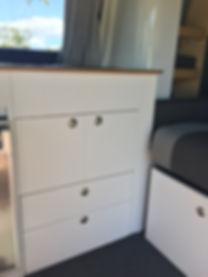 Campervan Conversion Kitchen Cabinets
