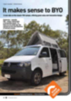 Time to Roam Magazine April 2017 Wanderlust Campers Review page 1