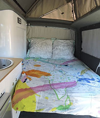 Campervan Conversion Bed Seat Bed