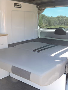 Campervan Conversion Reclined Seat