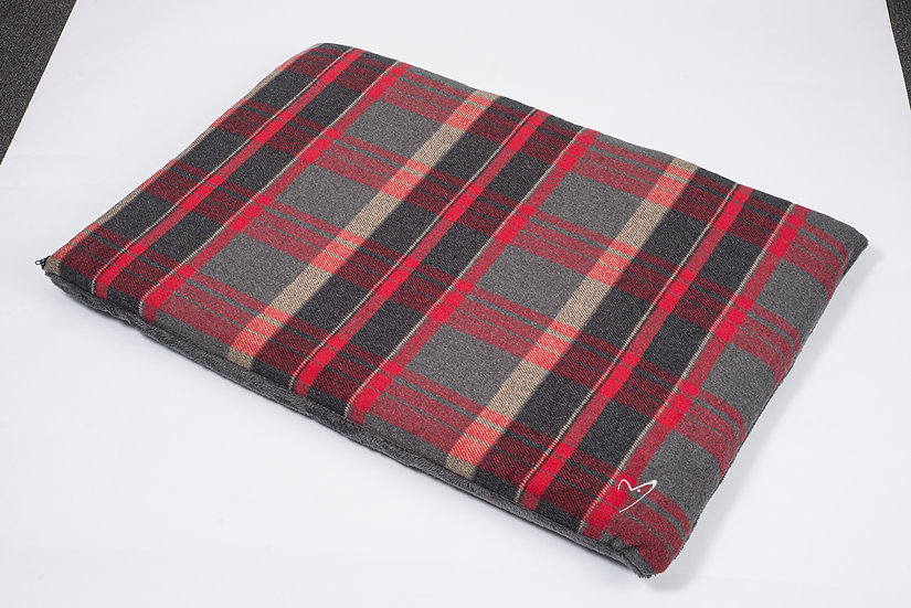 Camden Comfy Mat Red Check
