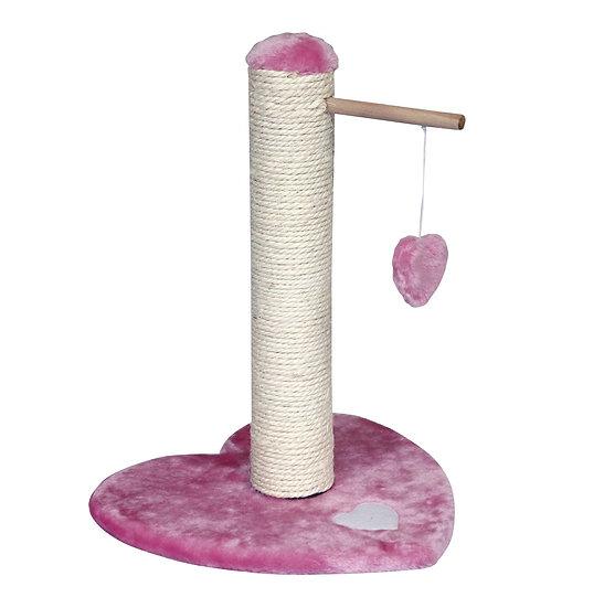 Cat Scratcher PlayHeart (46cm) Pink