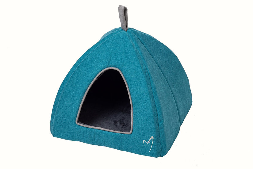 NEW Camden Winter Deluxe Pyramid Bed Teal