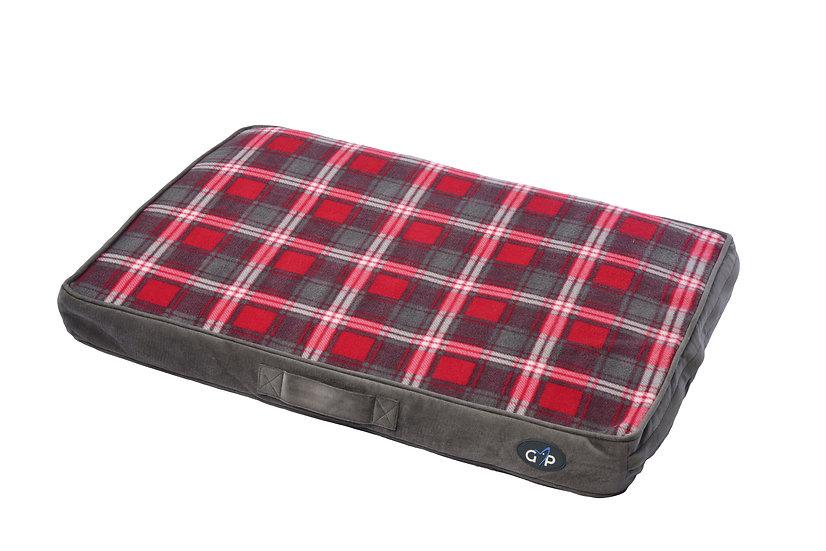 Essence Lounger Medium (56x81x8cm) Red Check