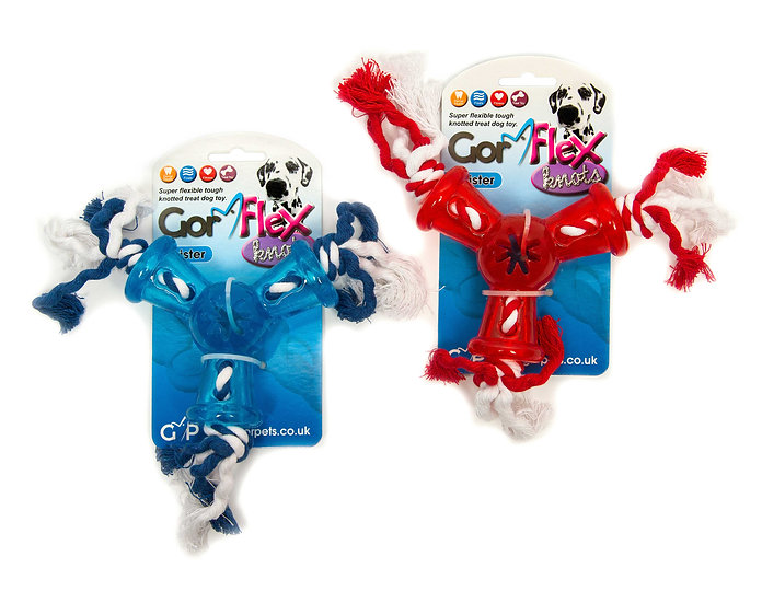 Gor Flex Knots Twister (31cm) Blue/Red