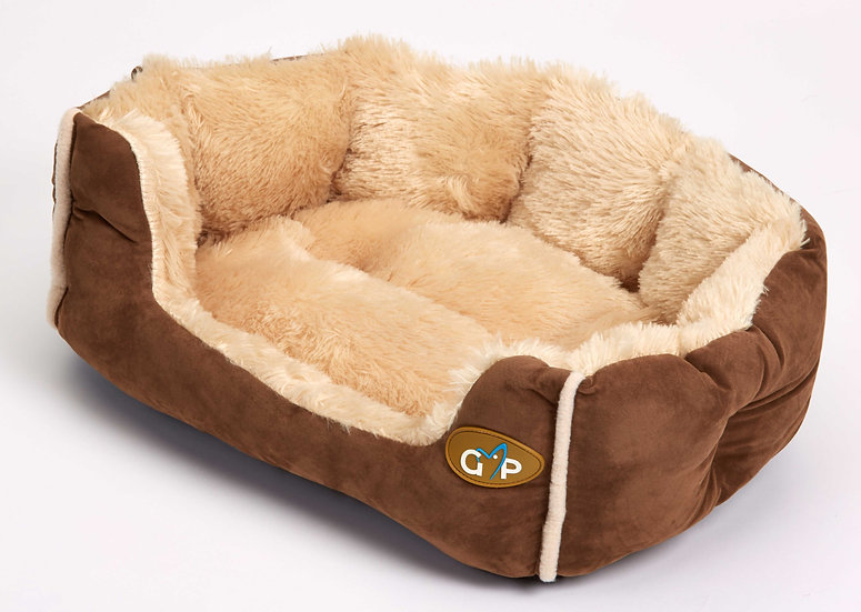 Nordic Snuggle Bed Brown
