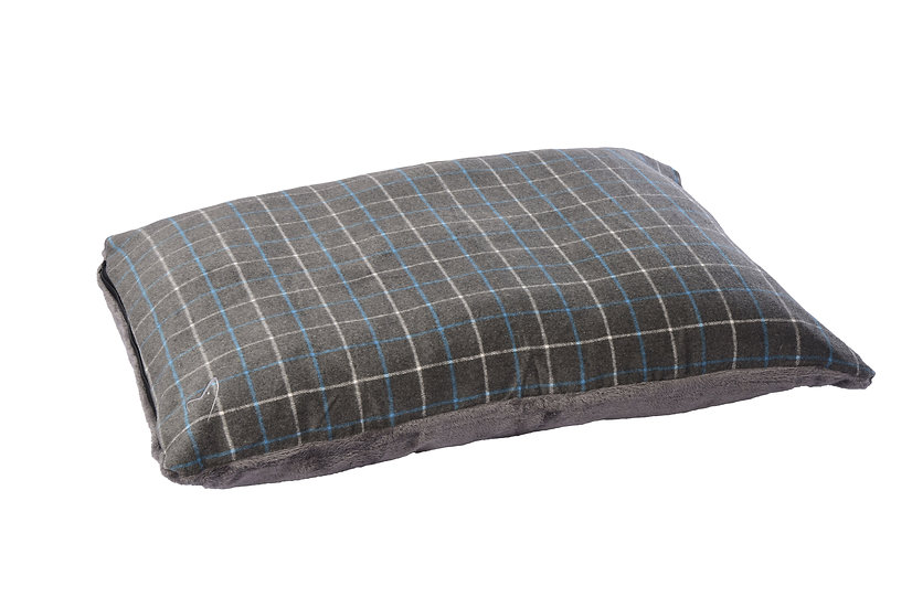 Premium Comfy Cushion Grey Check