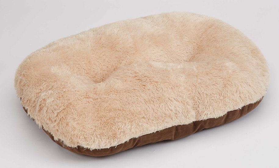 Nordic Oval Cushion Brown