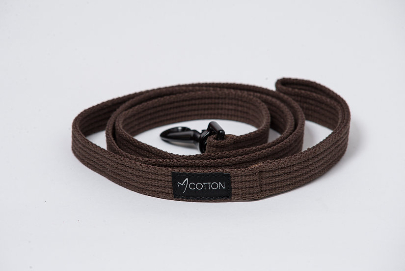 Gor Cotton Leash Brown