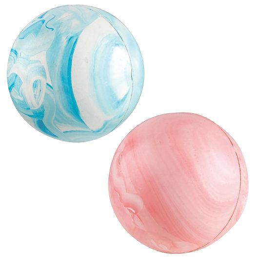 Gor Rubber Ball Small (6.4cm) Pink/Blue