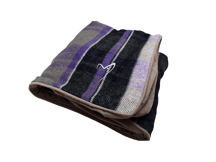 Camden Sleeper COVER ONLY Purple Check