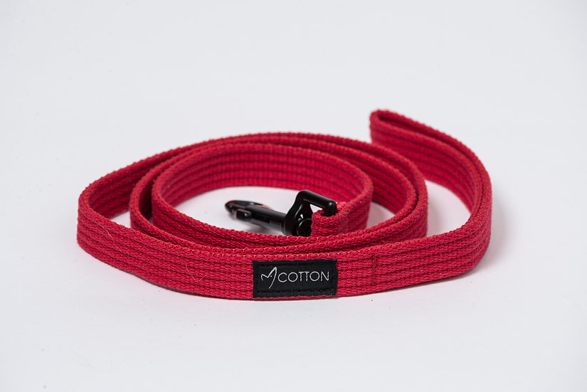 Gor Cotton Leash Red