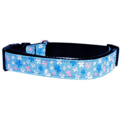Cat collar Blue Butterfly