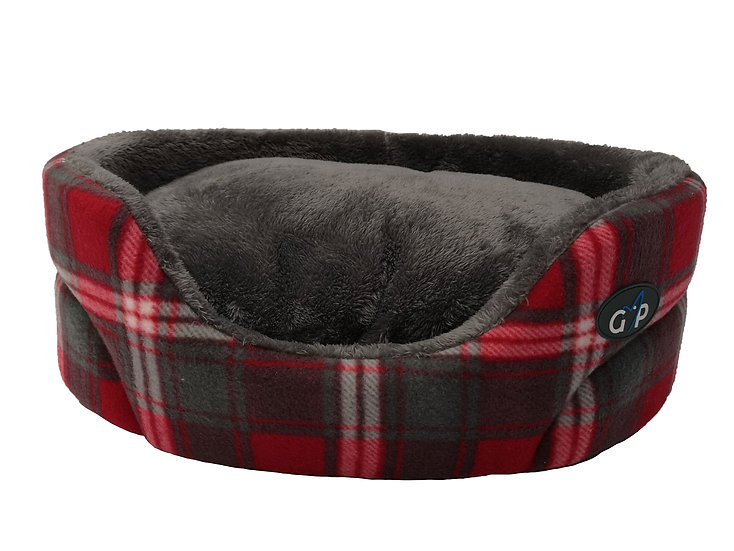 Essence Standard Bed Red Check