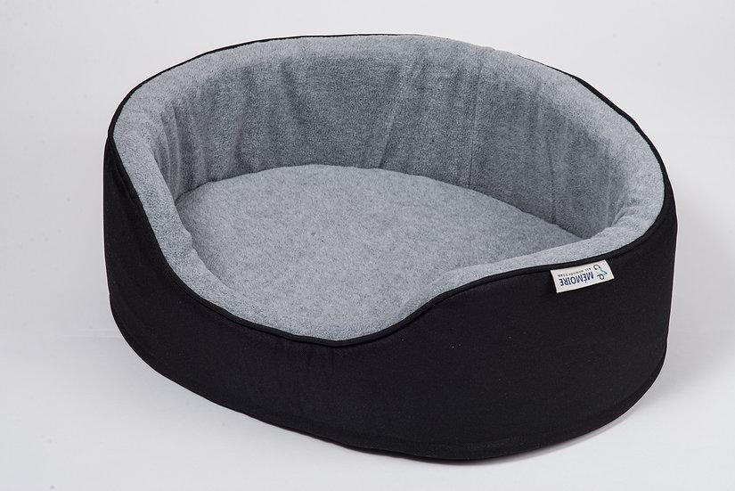 Memoire Memory Foam Bed Black