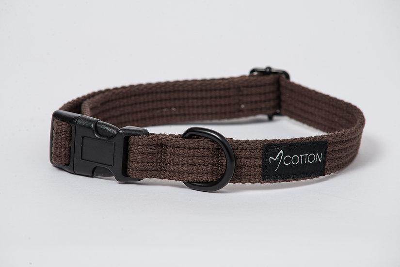 Gor Cotton Collar Brown