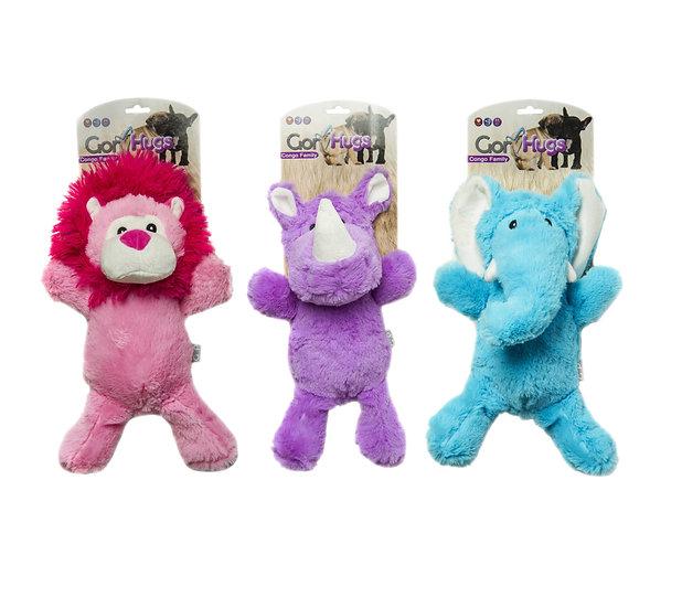 Gor Hugs Congo Family (32cm) Purple/Blue/Pink