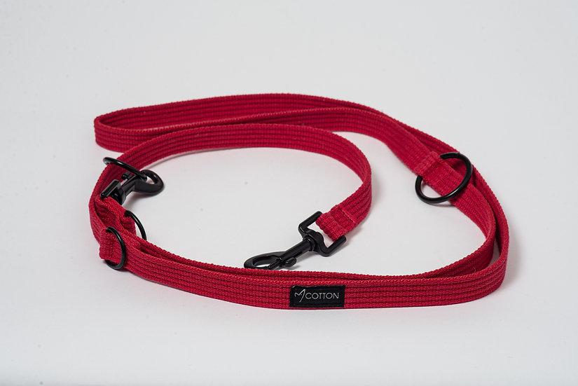 Gor Cotton Training Leash Red