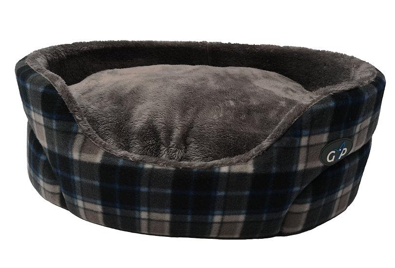 Essence Standard Bed Grey Check