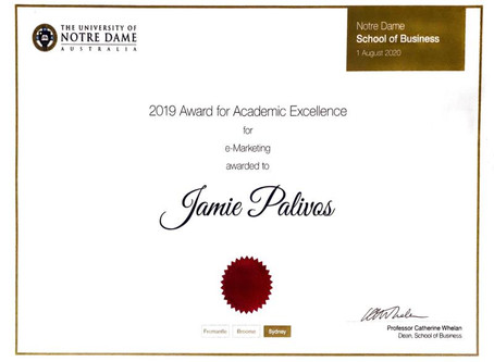 Malleys Lawyers Law Clerk wins Award for Excellence!